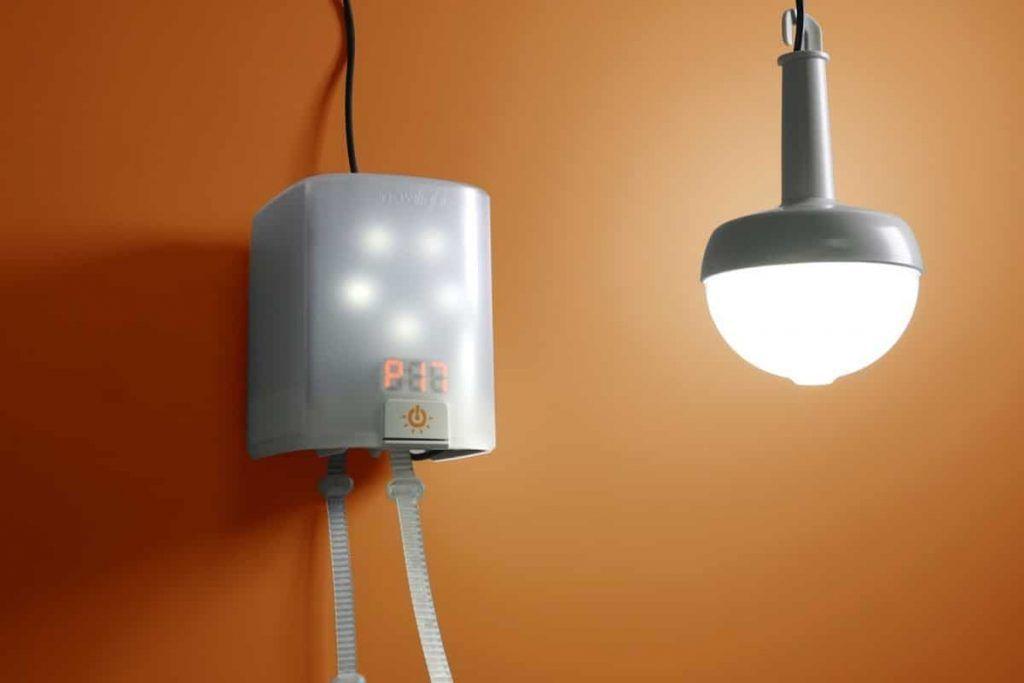 NowLight self-powered lamp