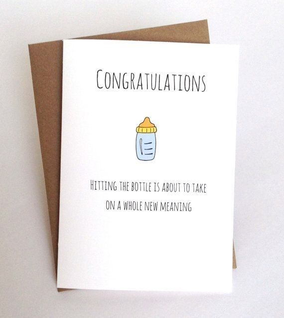 Congratulations on hitting the bottle