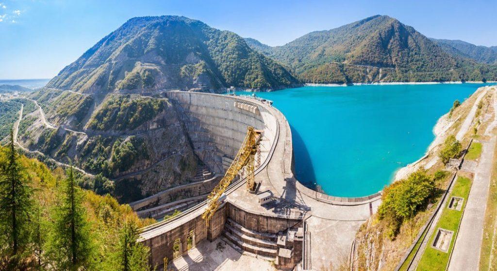 The Inguri Enguri Dam