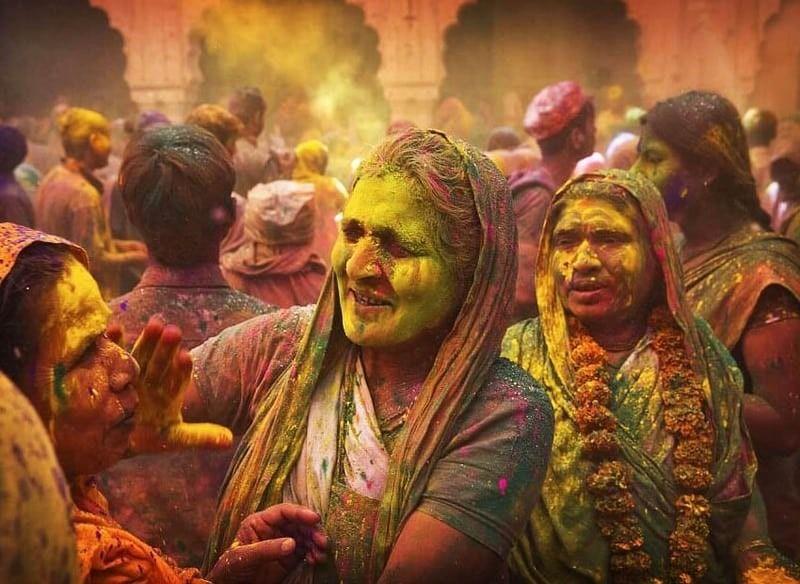 Varanasi-holi
