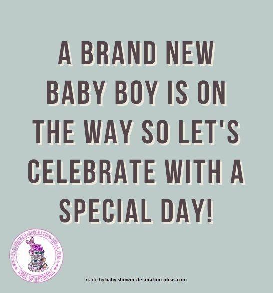 a brand new baby boy