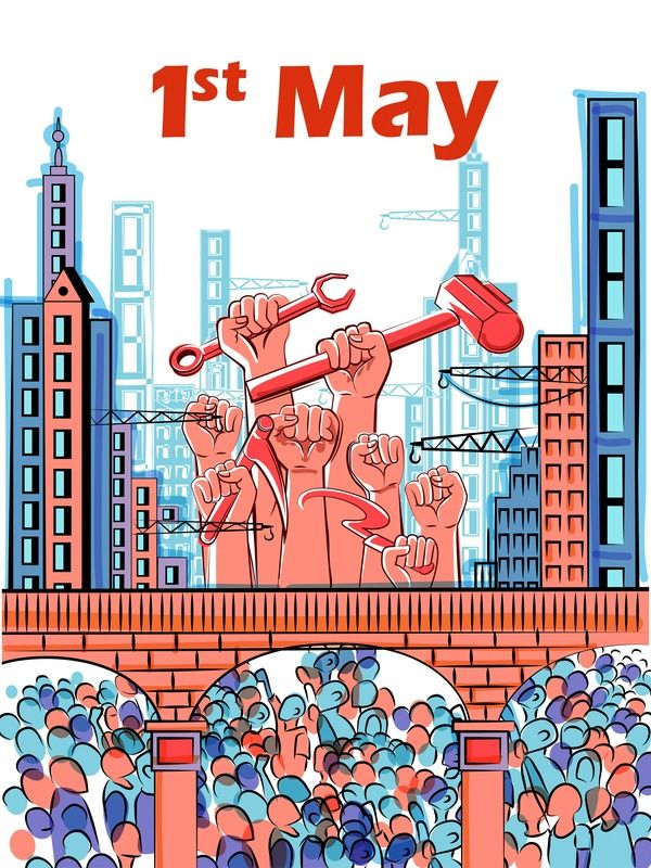 1-May-international-workers-labor-day-poster-hand-drawn
