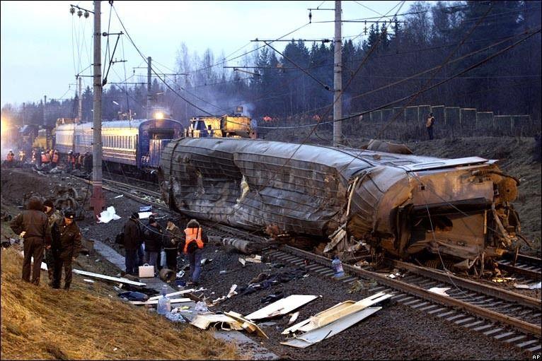 Ufa Railway accident