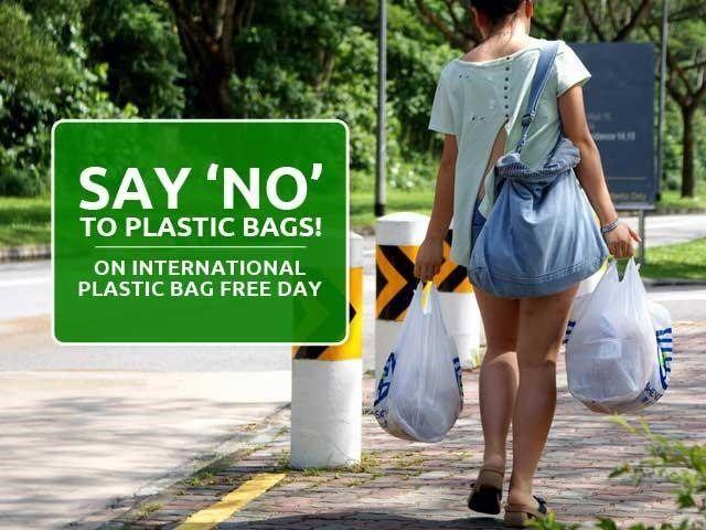 Say No to Plastic on International Plastic Bag Free Day