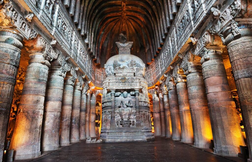 Ajanta Caves - Cultural Heritage Structures Of India