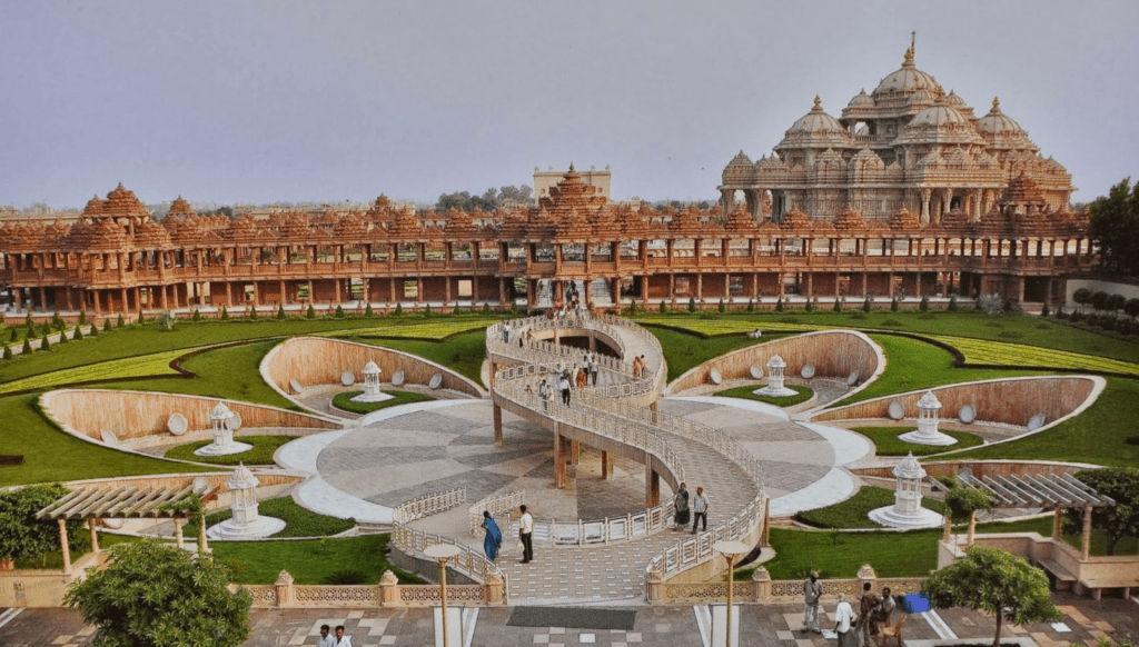 Akshardham Mandir - Cultural Heritage Structures Of India