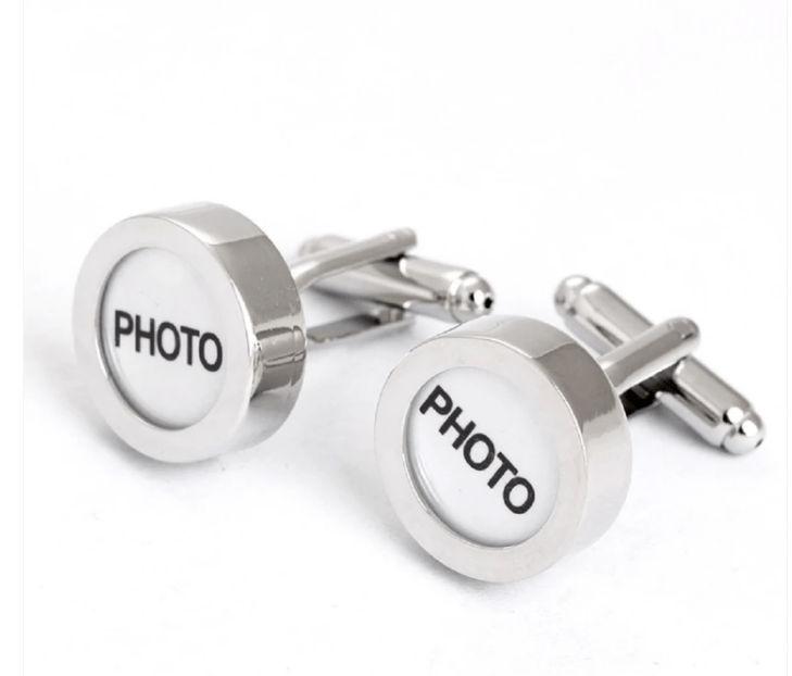 Custom Photo Cufflinks
