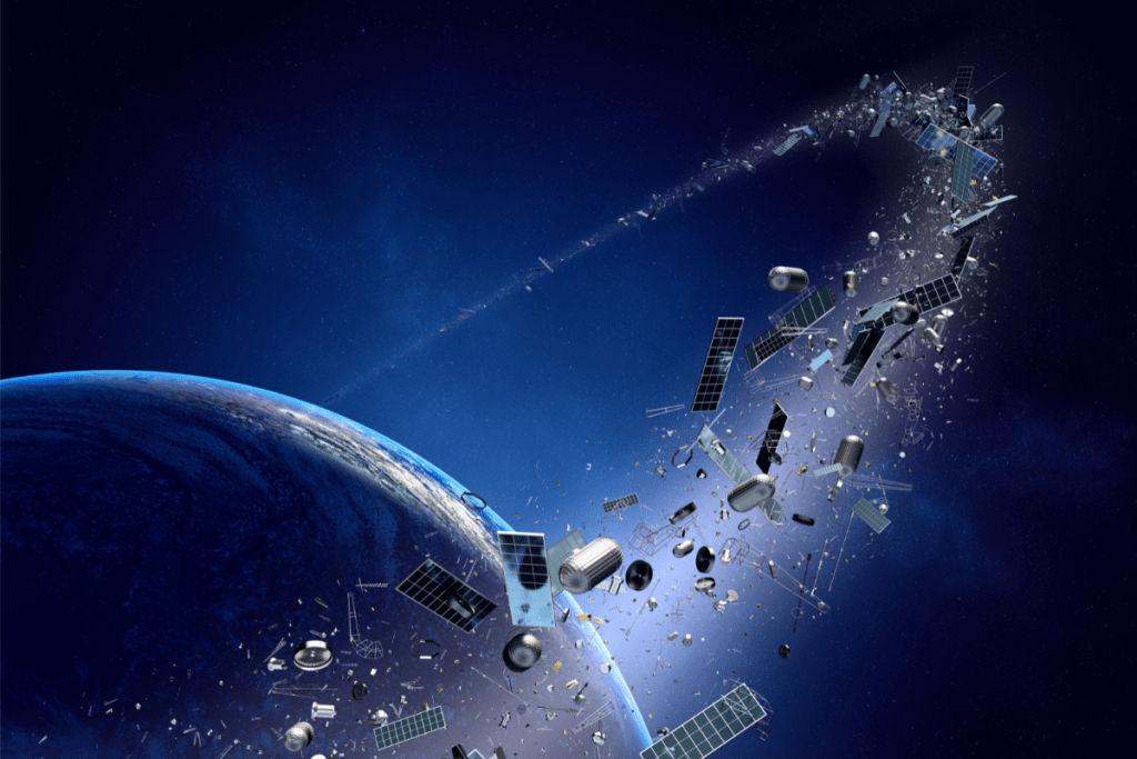 Space trash