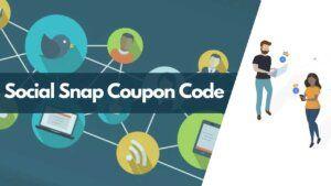 social snap coupon code, social snap promo code