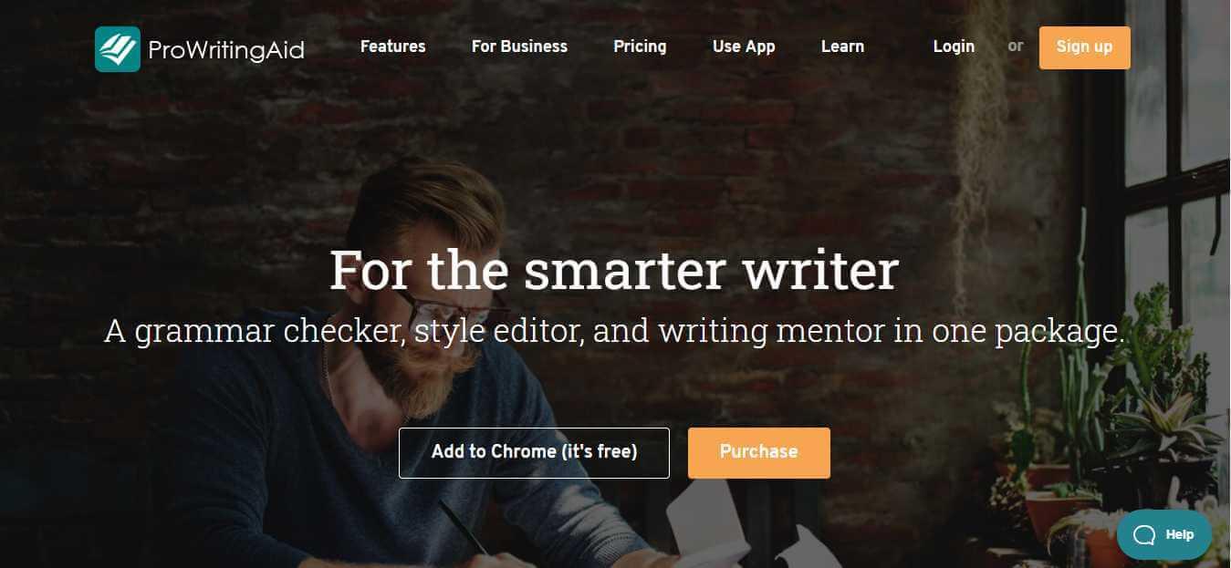 prowritingaid homepage