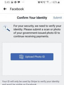 how to bypass facebook id verification