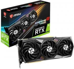 MSI GeForce - 3090 RTX Graphics Card