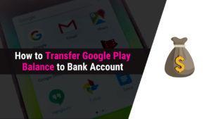 how to transfer google play balance
