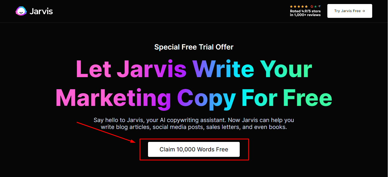 conversion.ai free trial, jarvis free trial, jarvis trial, jarvis.ai free trial, jarvis.ai trial