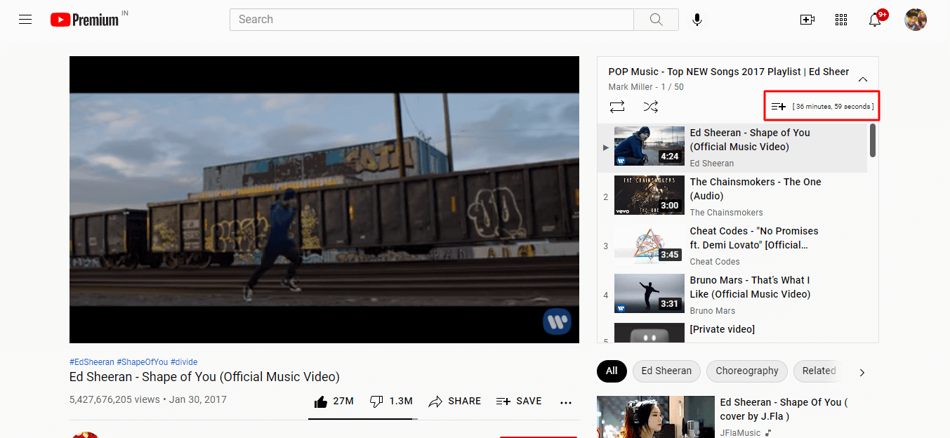 youtube playlist analyzer, youtube playlist calculator, youtube playlist length