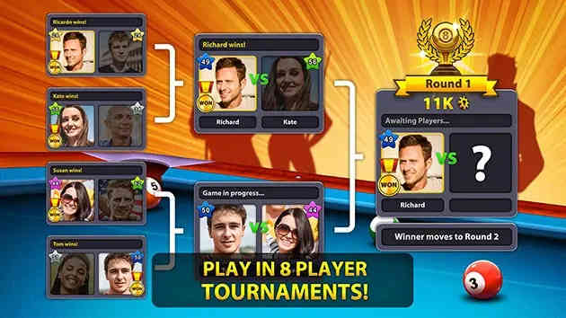 Apk 8 Ball Pool Unlimited Coins V 5.2.2 (Long Lines) Android