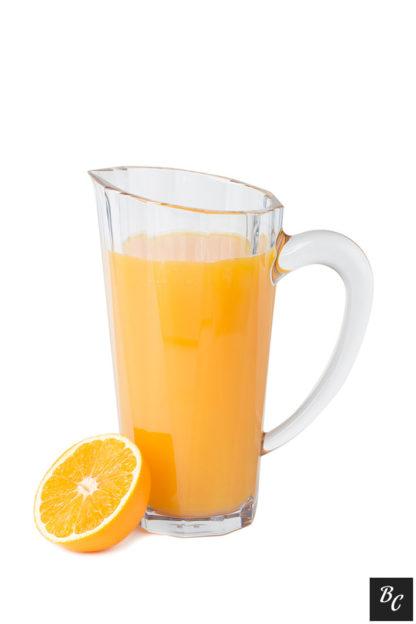 Okrossbar pitcher 1 liter med apelsinjuice. Premium serien