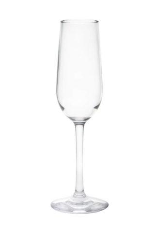 Falsterbo Champagne glas 17cl premium okrossbara polykarbonat glas från Barcompagniet