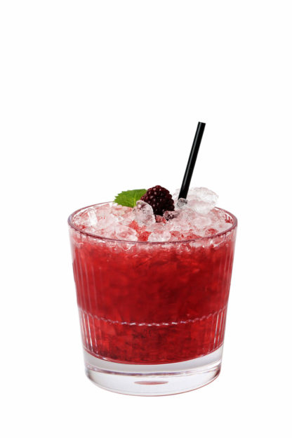 Stripe 355 Rocks, 35cl - strawberry daiquiri drink in a premium unbreakable polycarbonate glass from Barcompagniet.