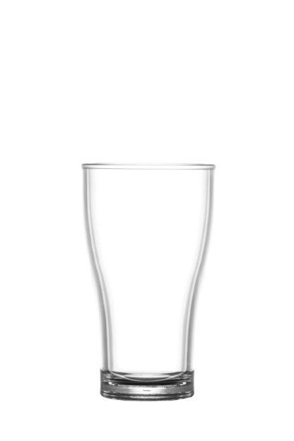 Vasos cerveza 28cl irrompibles policarbonato plastico