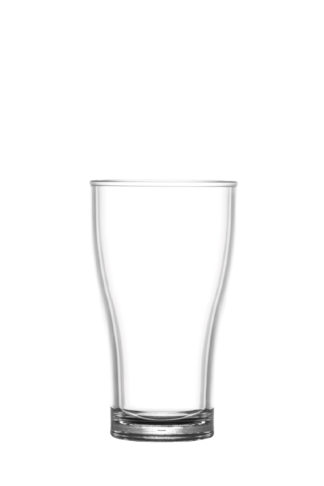 Beer Glass 10oz 28cl Half Pint premium unbreakable polycarbonate glass from barcompagniet