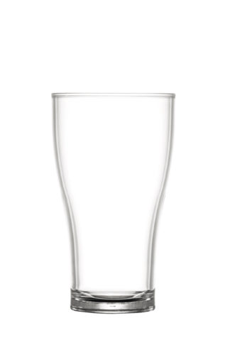 Beer pint glass 57cl premium unbreakable polycarbonate glass from barcompagniet