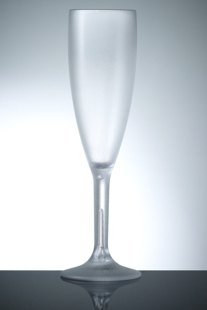 Copa Champán/cava 17cl frosted irrompibles policarbonato Barcompagniet