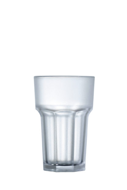 Tumbler hi-ball frosted 10oz 28cl premium unbreakable polycarbonate plastic glass from Barcompagniet