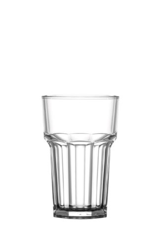 Tumbler hi-ball 10oz 28cl premium unbreakable polycarbonate plastic glass from Barcompagniet