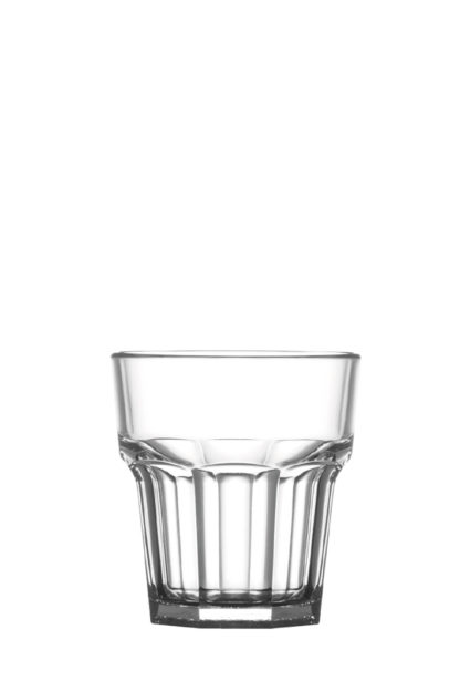 Tumbler Rocks 9oz 26cl premium unbreakable polycarbonate plastic glass from Barcompagniet