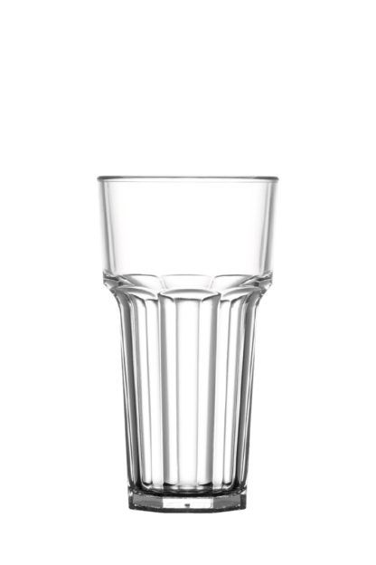 Tumbler tall drink glass 12oz 34cl premium unbreakable polycarbonate plastic glass from Barcompagniet