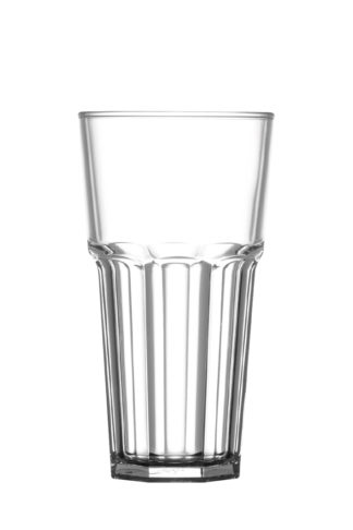Tumbler tall drink glass 20oz 57cl premium unbreakable polycarbonate plastic glass from Barcompagniet