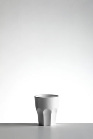 Shot Glass 4cl in White Opaque premium unbreakable polycarbonate from Barcompagniet
