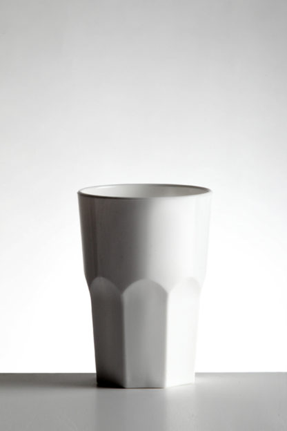 Tumbler hiball granity glass 35cl in White opaque premium unbreakable polycarbonate from Barcompagniet