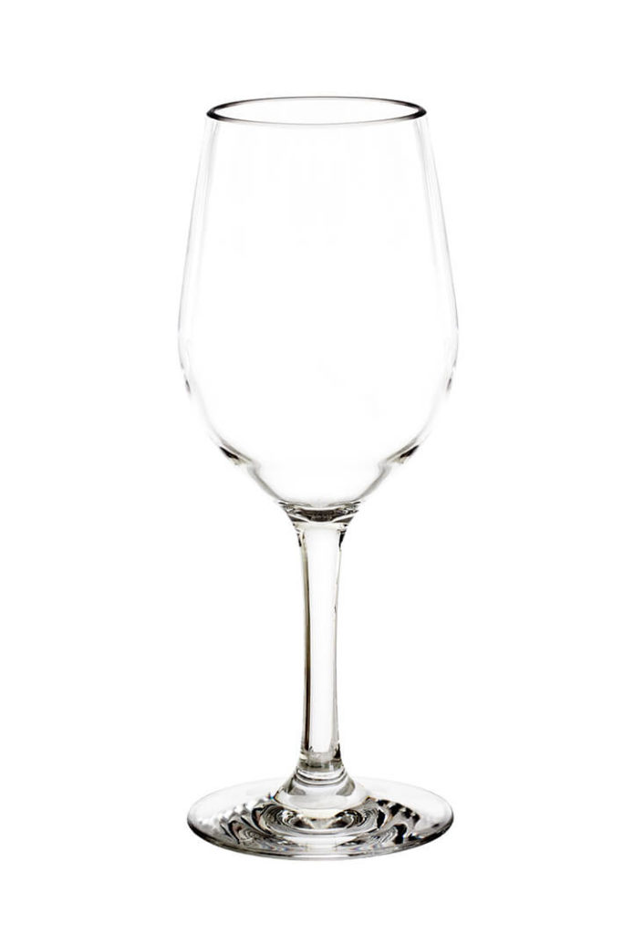 Falsterbo wine glass 32cl - empty premium unbreakable polycarbonate plastic glass from barcomapgniet