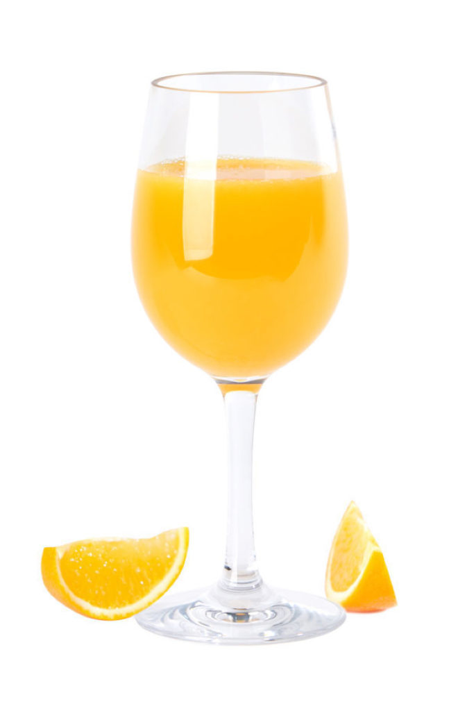 Falsterbo wine glass 32cl - orange juice in a premium unbreakable polycarbonate plastic glass from barcompagniet