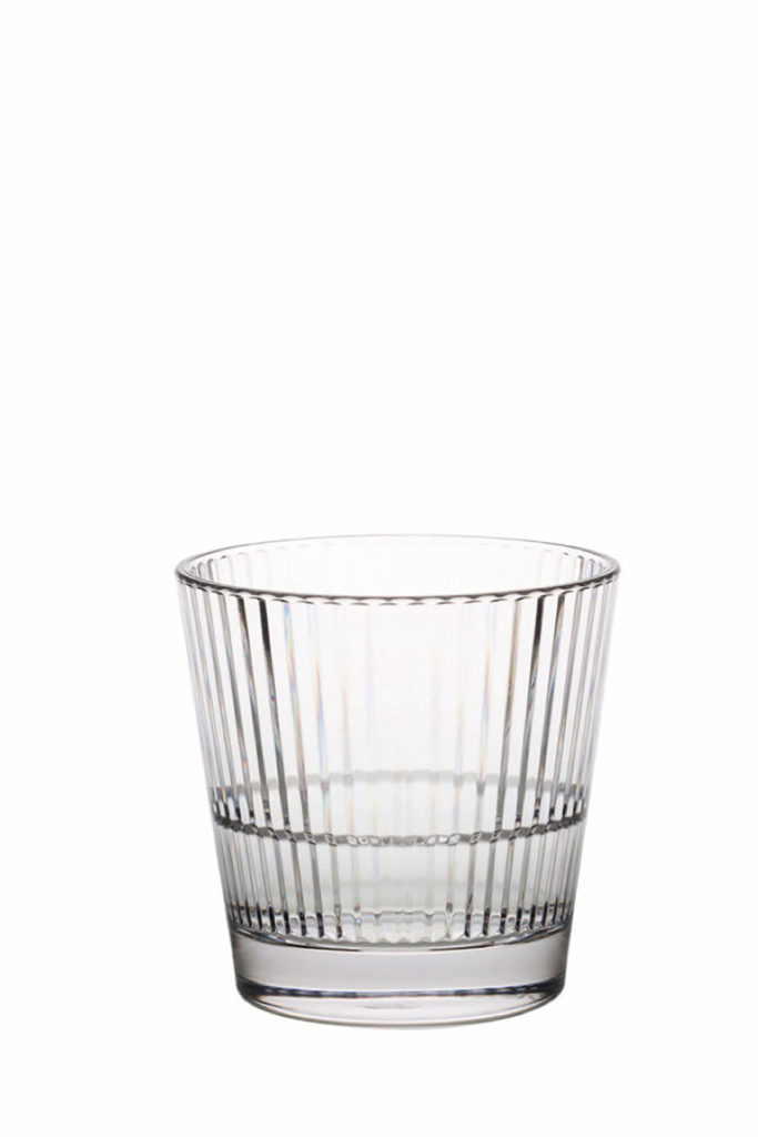 Stripe 355 Rocks 35cl - an empty premium unbreakable polycarbonate glass from Barcompagniet.