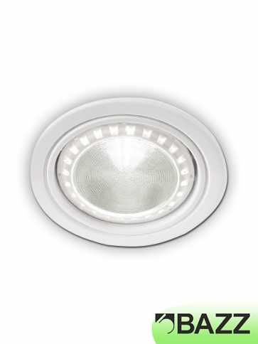 bazz 410 series 11w led recessed exterior light white (4-pack) 410l11w4