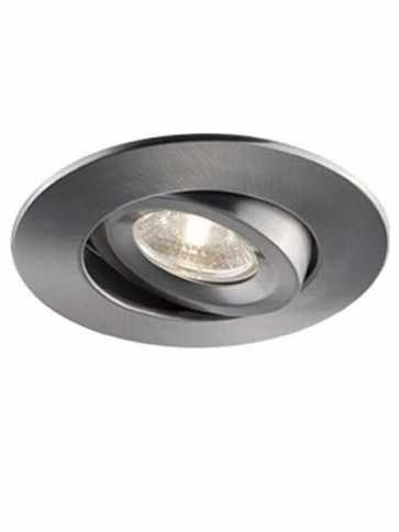 Bazz Low-Profile 7W LED Recessed Light Brushed Chrome 520L7BM4 (4-pk)