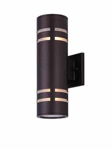 Canarm Tay 2 Lights Oil Rubbed Bronze Wall Light IOL256ORB