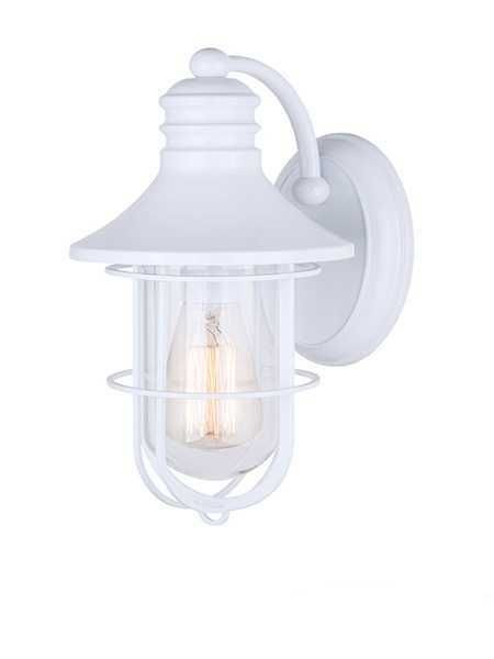 Canarm South Iol312wh 1 Light White Outdoor Wall Light