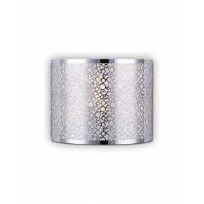 canarm montreal 1 light chrome wall light iwl527a01ch