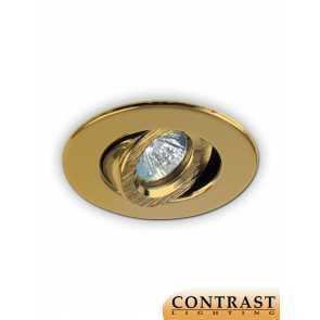 Contrast Lighting T2000-03 Evolution LED Gold Plated 24K Light Trim (recessed_light_trim)