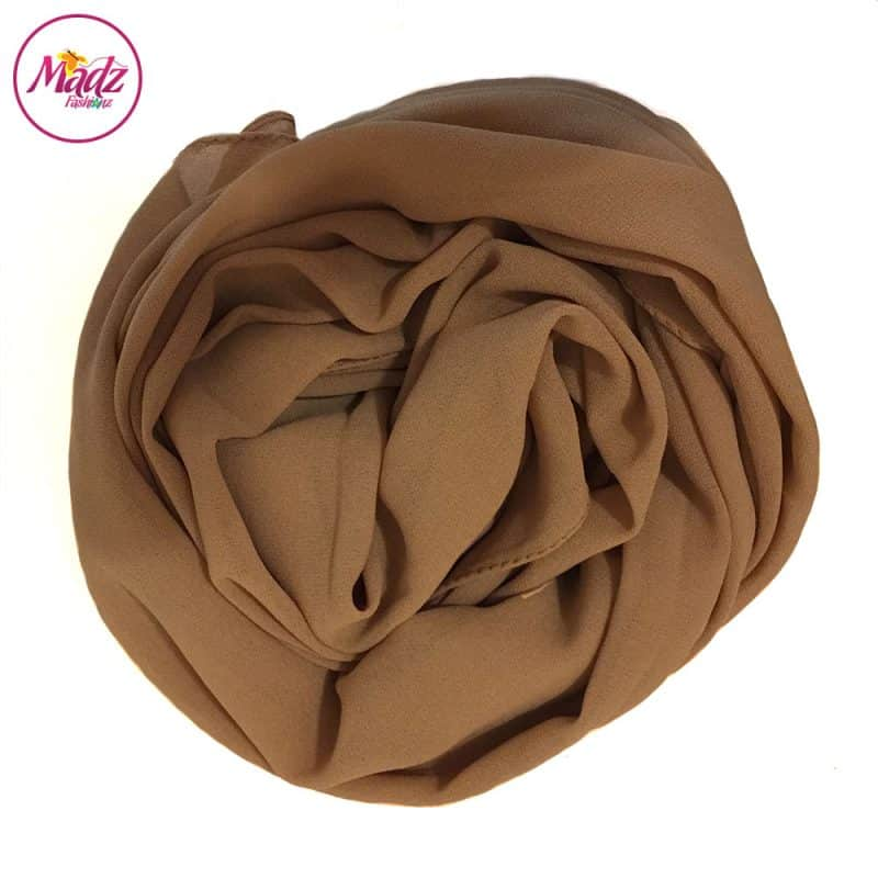 Long Plain Chiffon Sand Muslim Hijabs Scarves Shawls
