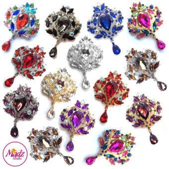 Madz Fashionz UK: Makeupsarang93 Elegant Brooch Hijab Pin Gold Silver