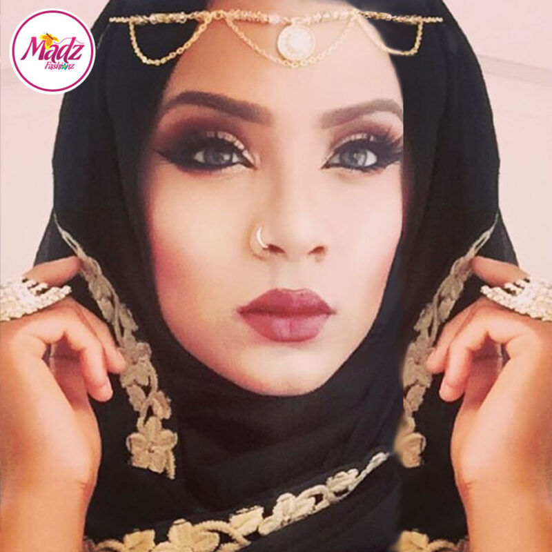 Madz Fashionz UK: Shahara Diamante Headpiece Matha Patti Gold Silver White