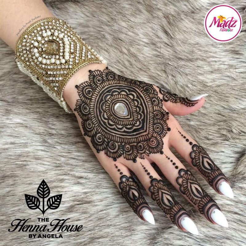 Madz Fashionz UK: Hennabyang Pearled Cuff Bracelet Kara