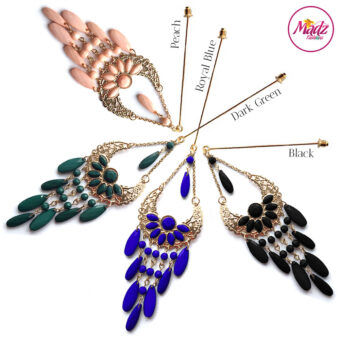 Madz Fashionz UK: Aliyzah Hijab Pin Hijab Jewels Stick Pins Gold Peach Black Green Royal Blue