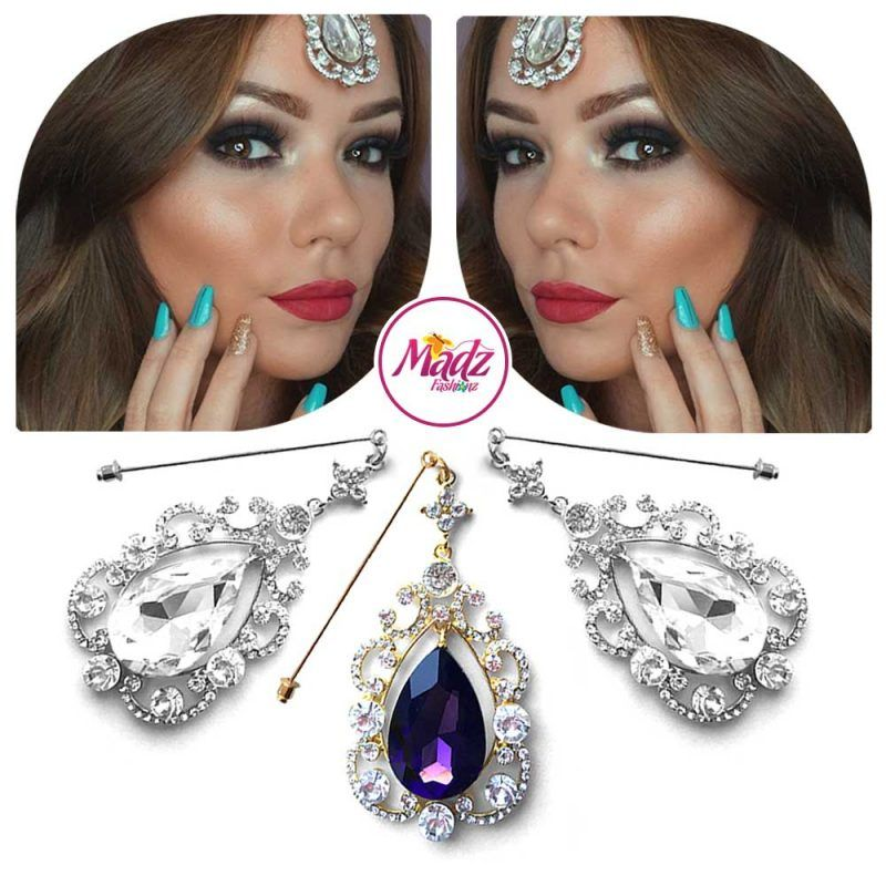 Madz Fashionz UK: Makeupbysanchez Chandelier Drop Hijab Pin Stick Pin Hijab Jewels Hijab Pins Gold Purple Silver White