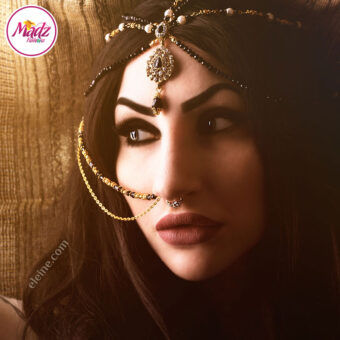 Madz Fashionz USA: Eleine Exquisite Nawab Bridal Nath Indian Nose Ring